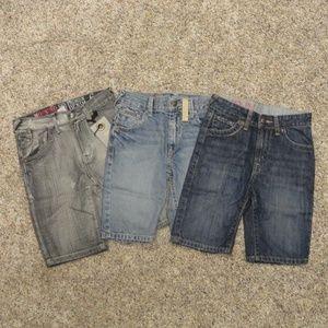 Boys' Mossimo Supply Denim Shorts - set of 3 -NWOT
